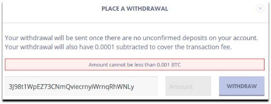 primedice withdrawal