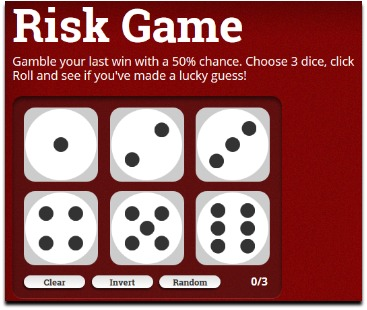 pocketdice risk